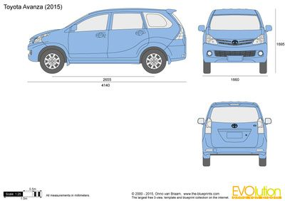 Toyota avanza blueprints pinterest toyota aircraft and cars toyota avanza malvernweather Choice Image
