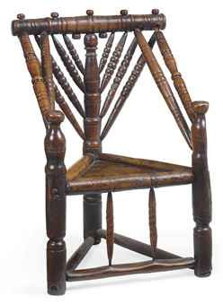A Charles Ii Ash Turner S Chair Chair Antique Chairs