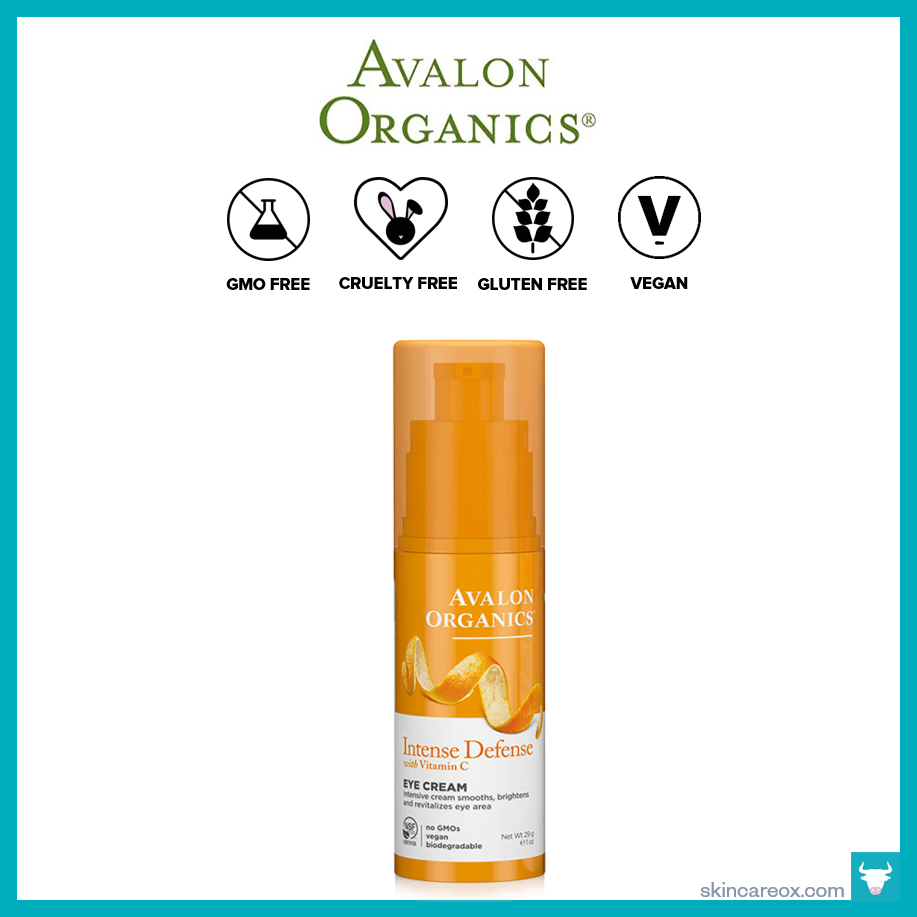 Avalon Organics Intense Defense Vitamin C Organic Eye Cream