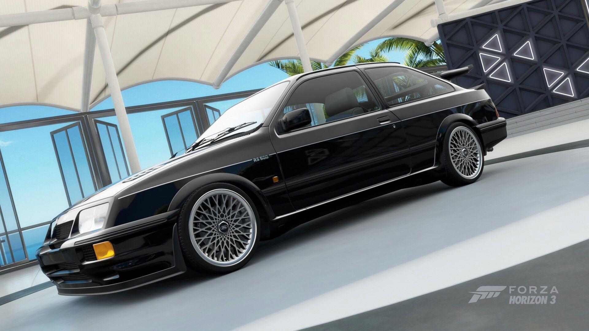 Ford Sierra Cosworth Forza Horizon 3 Wheel Glitch Ford Sierra