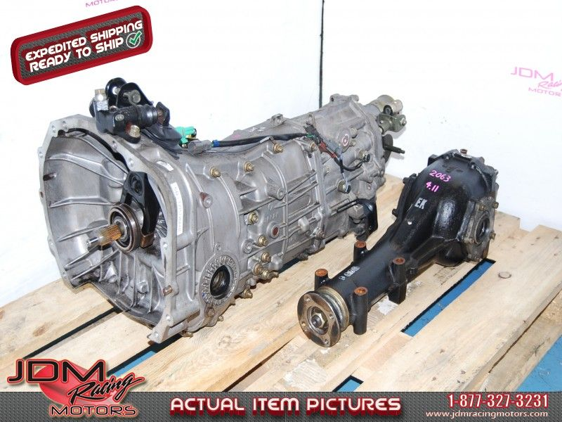 Subaru Impreza 2008-2011 TY757VBAAB 5-Speed Manual Transmission