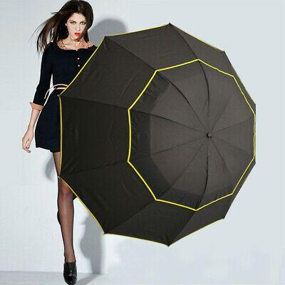 Ad(eBay) Compact Umbrella Double Layer Folding Windproof Strong Travel Wind UV Resist #bestumbrella