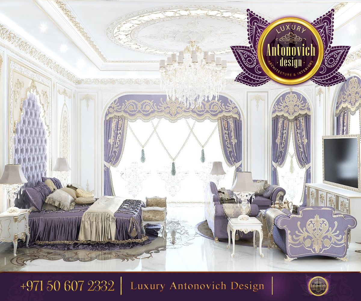 Admirable House Interior Using Den Decorating Ideas And: Touch Of Glamour! Admirable Bedroom Interior Design By