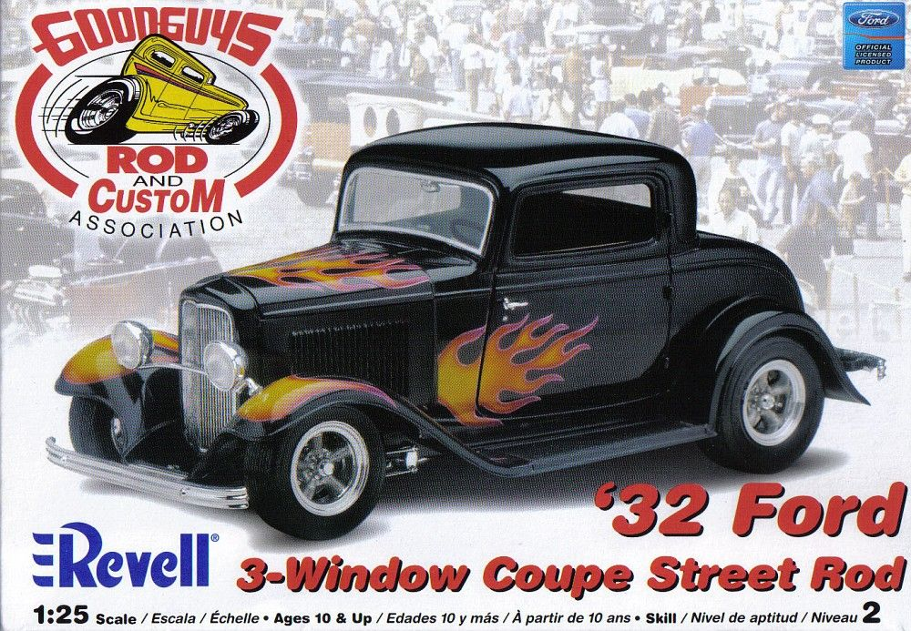 Photo From Revell 32 Ford 3 Window Coupe Street Rod Goodguys