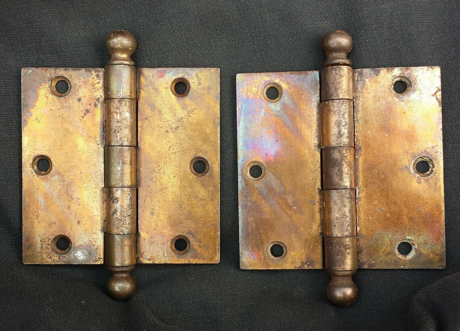 how to clean bronze door knobs