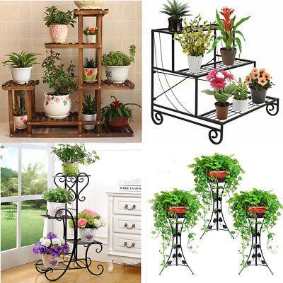 5 Designs Flower Pot Plant Stand Planter Rack Shelf Shelves Organizer Garden Usa Plants Plant Stand Flower Pots