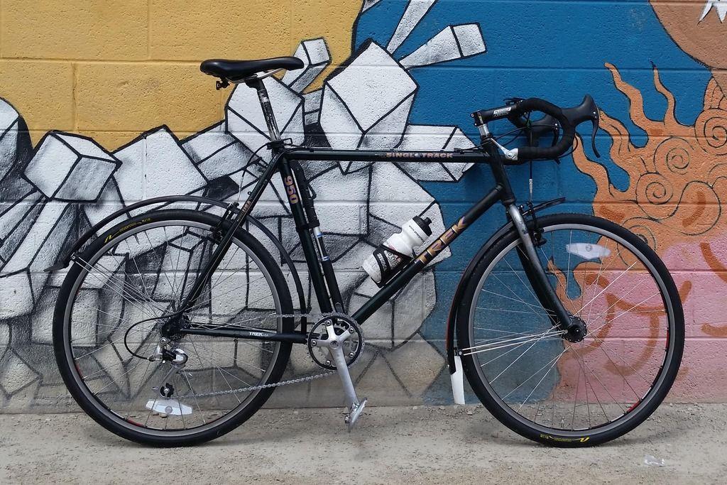 Last Of The Lugged Trek Mtbs 930 Project Bike Forums Modern Bike Bike Trek
