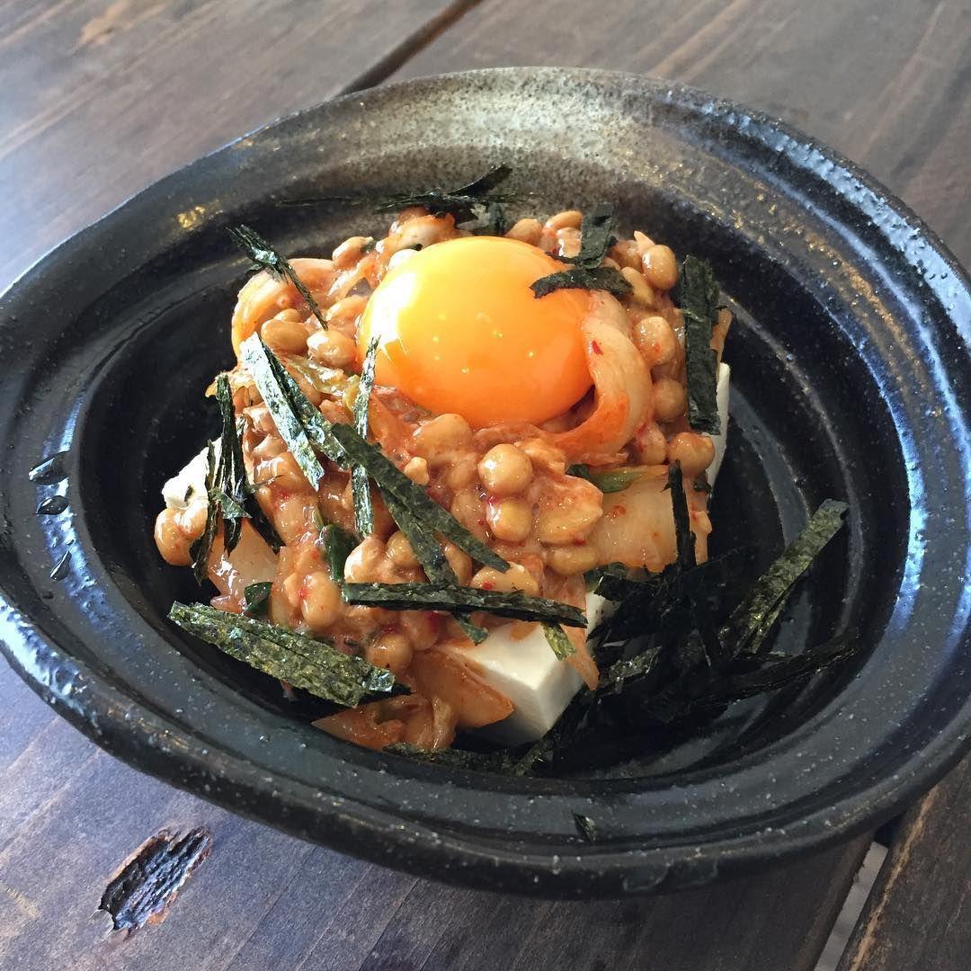 キムチ 豆腐 納豆
