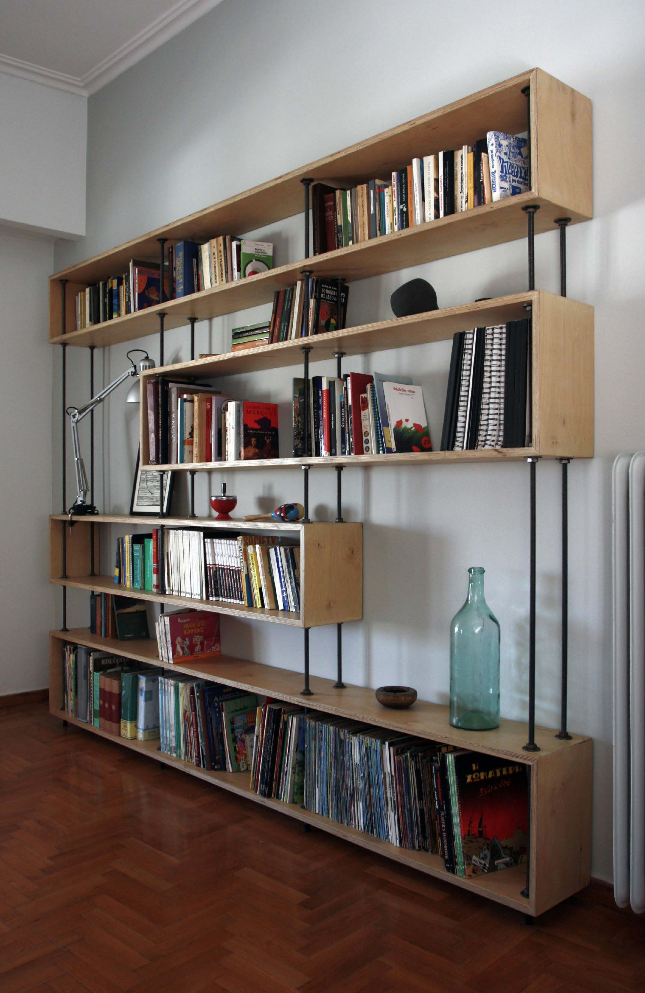 Plywood Bookcase Plywood bookcase