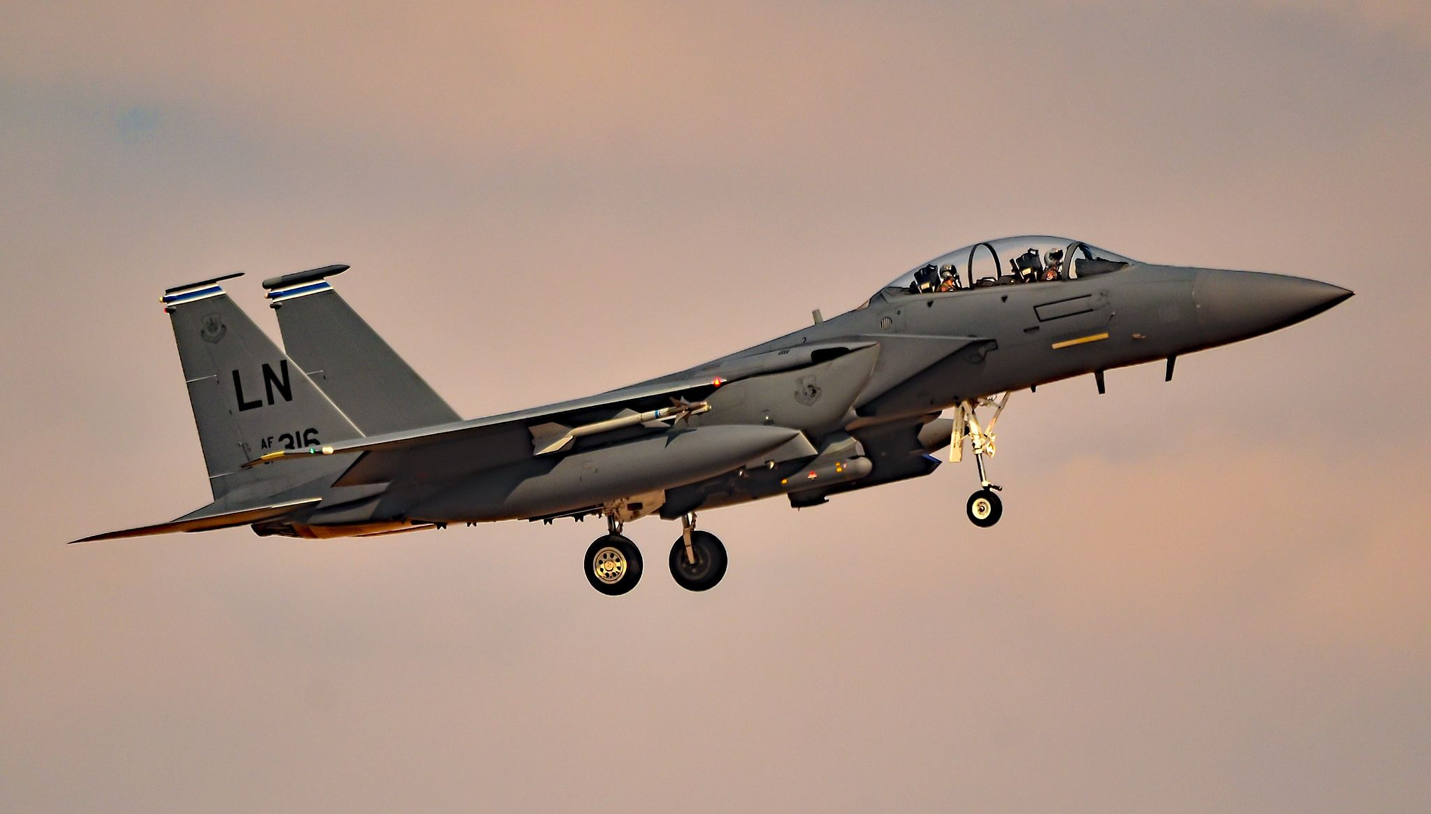 F15 Eagle 910316 48th Fighter Wing (48 FW/492FS