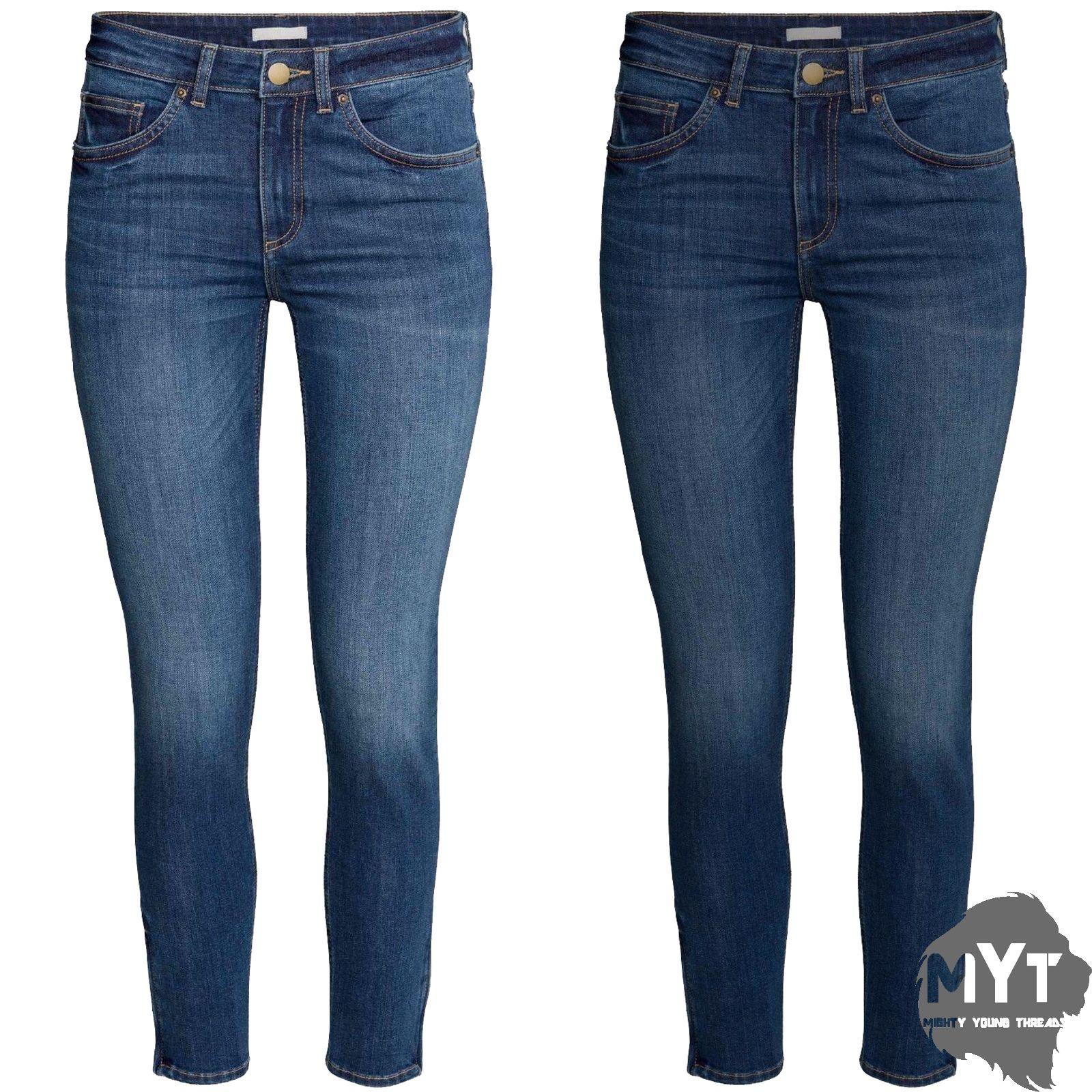 Damenmode Jeans ZARA BASIC DEPT DENIM Used Look Skinny Jeans