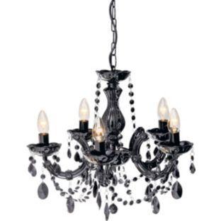Inspire 5 Light Chandelier Black At Argos Co Uk Your Online