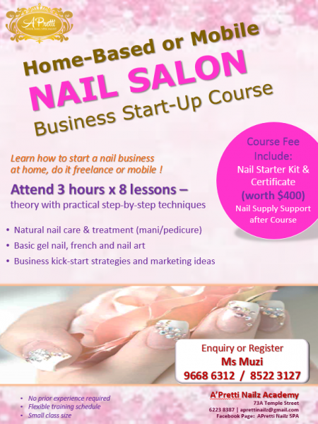 Learn how to start a nail business at home, do it freelance or ...
