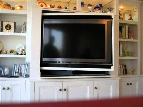 The Two Room Pivoting Tv Ikea Hack