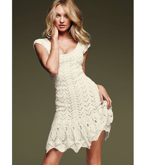 Knit Lace Summer Dress Pattern Instant Download This Beautiful Knit