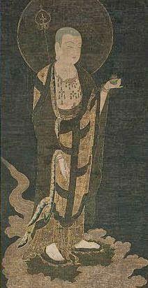 Jizo es alguien que está en el camino de la budeidad. De este modo se usó extensivamente para referirse al tiempo de Buda previo a su iluminación. Así, su vida o anteriores vidas son personificadas como una serie de pruebas existenciales cuya resolución lo irá acercando a realizar la completa iluminación.