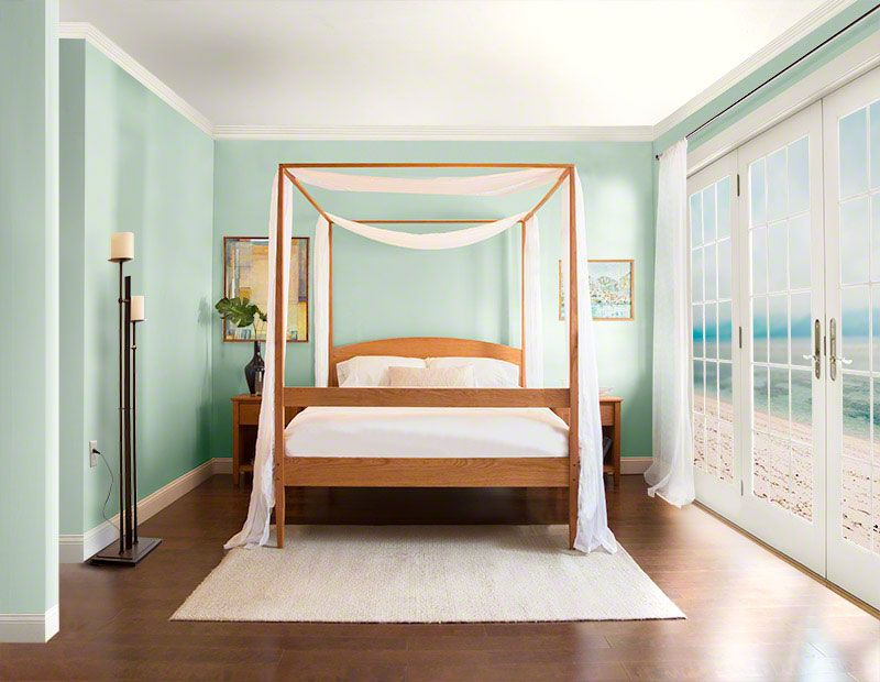 vermont shaker four poster bed in