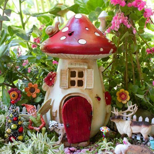 Fairytale Mushroom House Fairy House Fairy Garden House Fairy