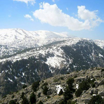 LEBANON, BEAUTIFUL AKKAR VIEW