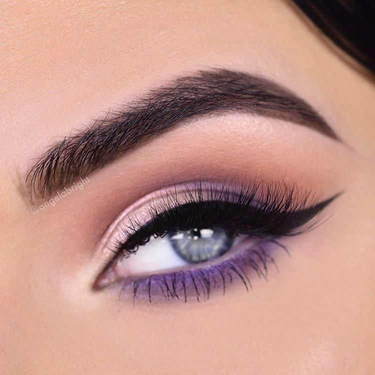 ebd58b55c1c Beautiful Purple Eye Look By Angelabright With Our Aria Lashes