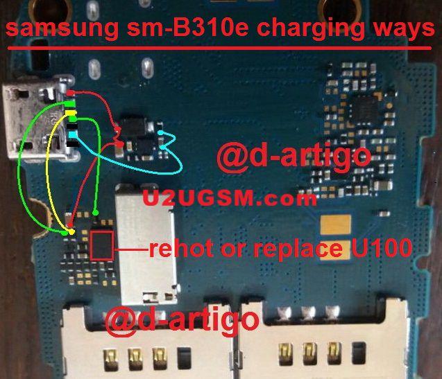 Samsung B310 Charging Problem Solution Jumper Ways Apple 6