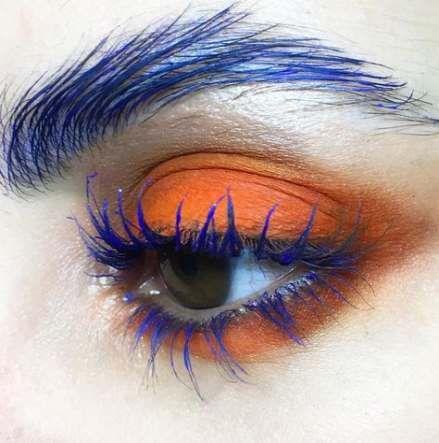 Eye makeup blue eyelashes 15+ super Ideas -   13 makeup Blue eyelashes ideas