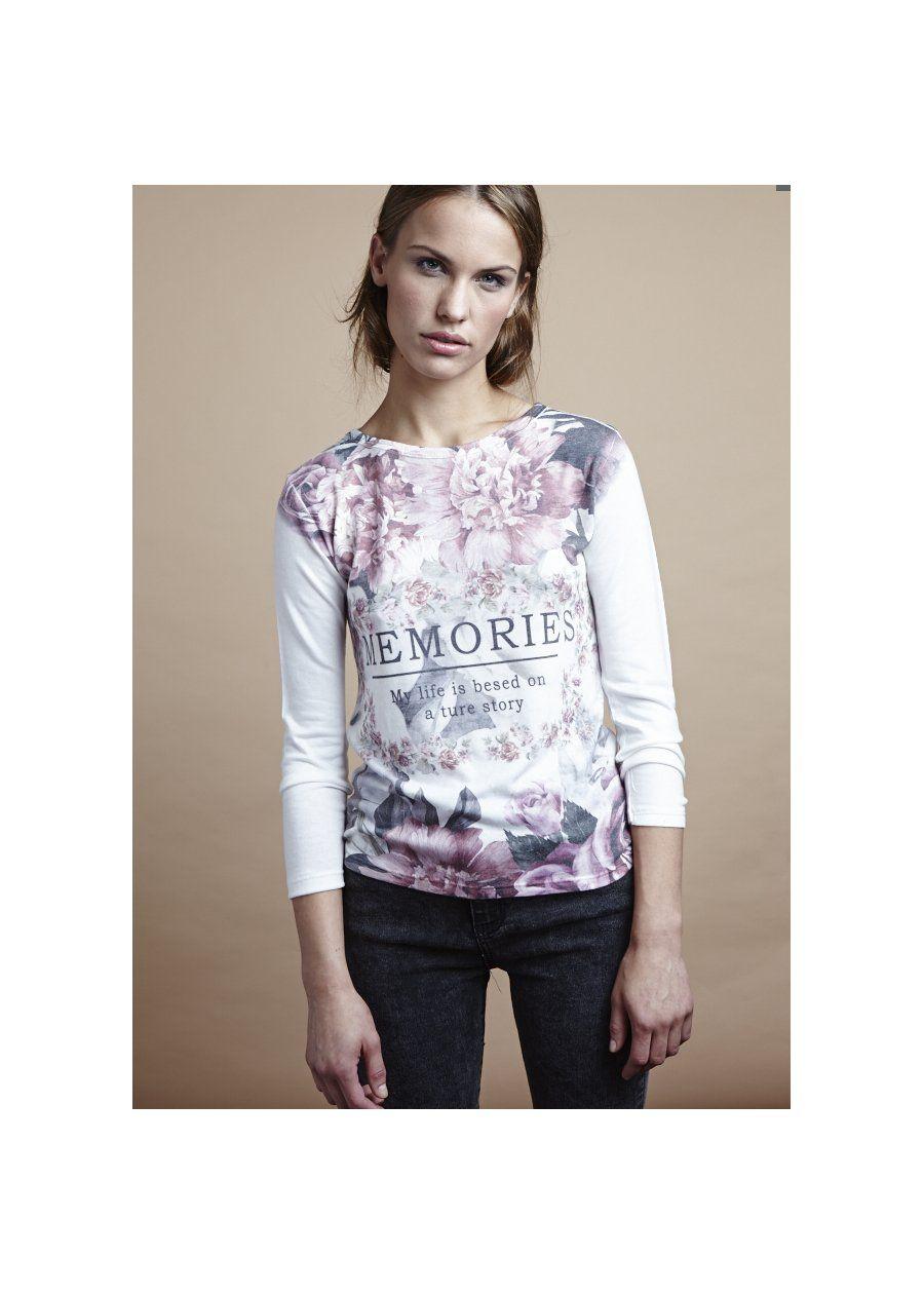 Camiseta Memories, PVP: 9,95€ Disponible en Mulaya Shop Online aquí: http://bit.ly/10ARkoC #moda #fashion #shoponline #Mulaya