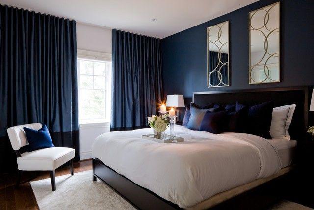 Dark Blue Bedroom modren dark blue bedroom walls size navy inside decorating