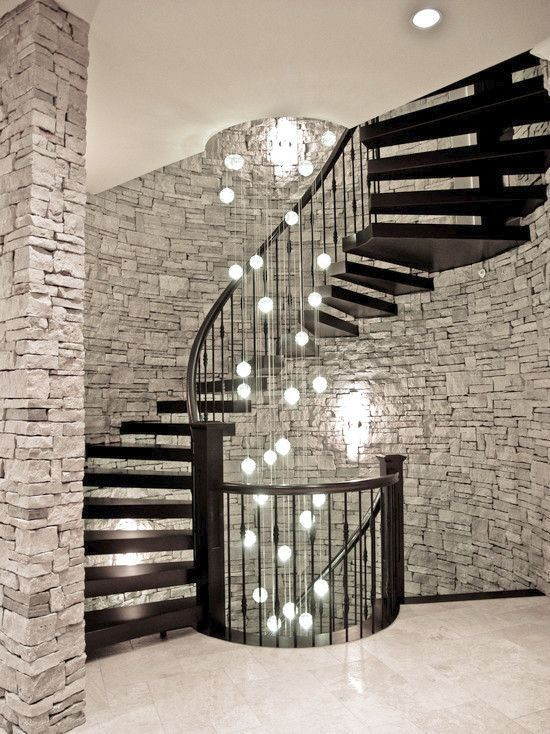 16 Elegant Modern Spiral Stairs Design Ideas That Will Fit Every ...