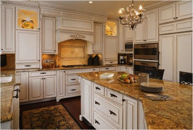 Cool antique kitchen cabinets in 2020 | Antique white ...
