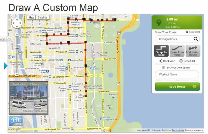 How to draw an iFit Map using Google Maps | Health and ... Ifit Maps on