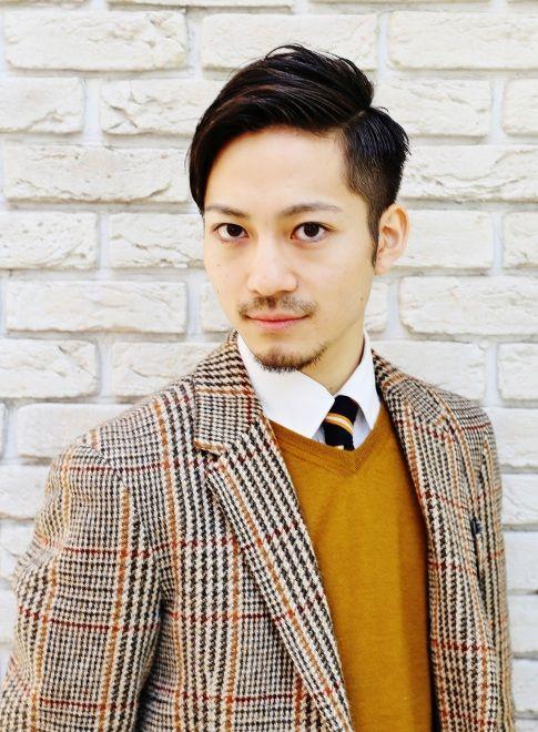 トラッドダンディーMIX 【Digzhair】 http://beautynavi.woman.excite.co.jp/salon/22991 ≪men's・hairstyle・メンズ・ヘアスタイル・2ブロック≫
