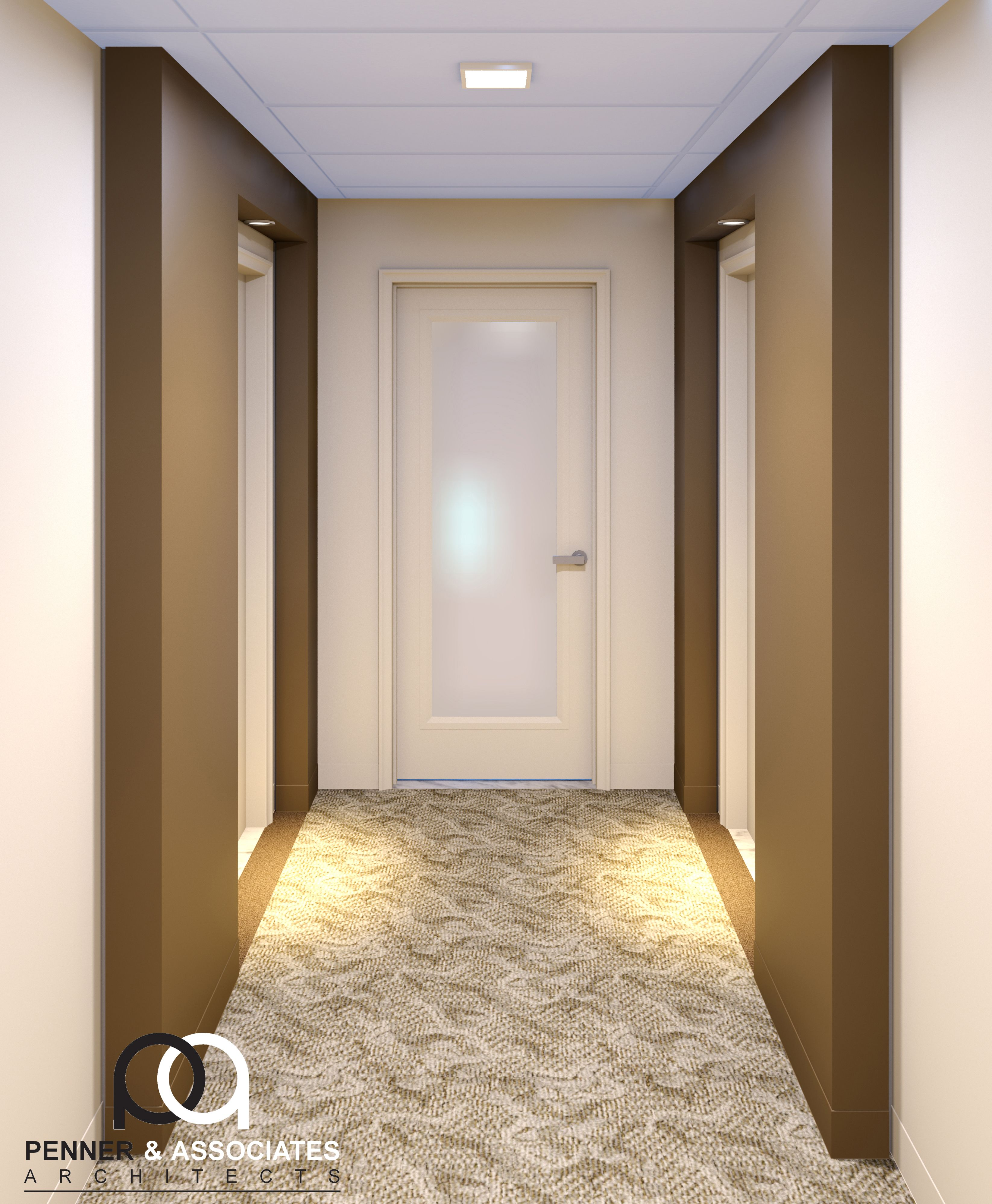 This Project Aimed To Renovate The Outdated Interior Hallways And