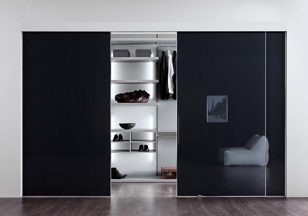 Sistema scorrevole di pianca lartdevivre arredamento - Porte scorrevoli per cabine armadio ...