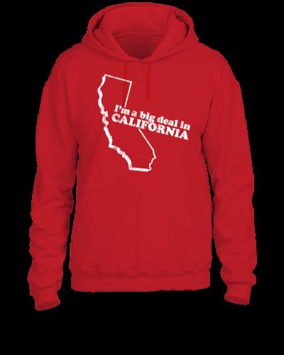 CALIFORNIA STATE SLOGAN - UNISEX HOODIE