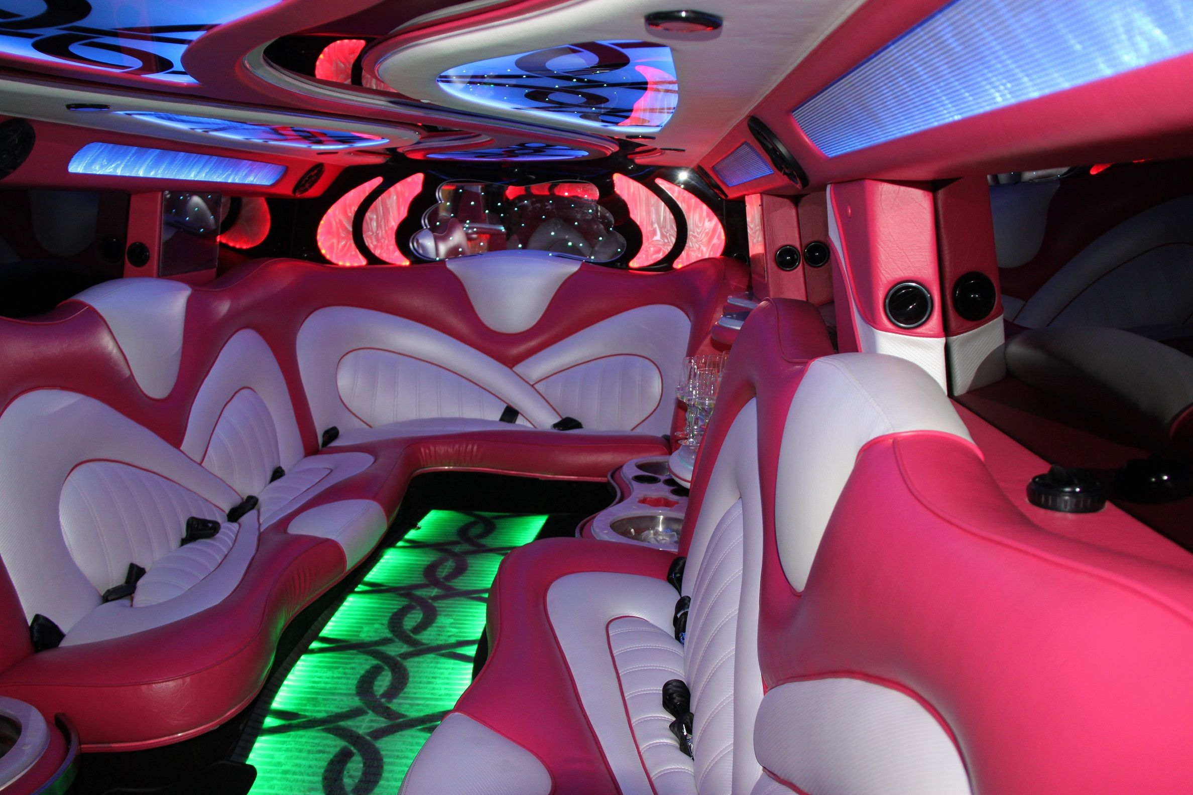 Showtime Limousines pink hummer perth interior | LIMOUSINES ... | pink hummer hire perth