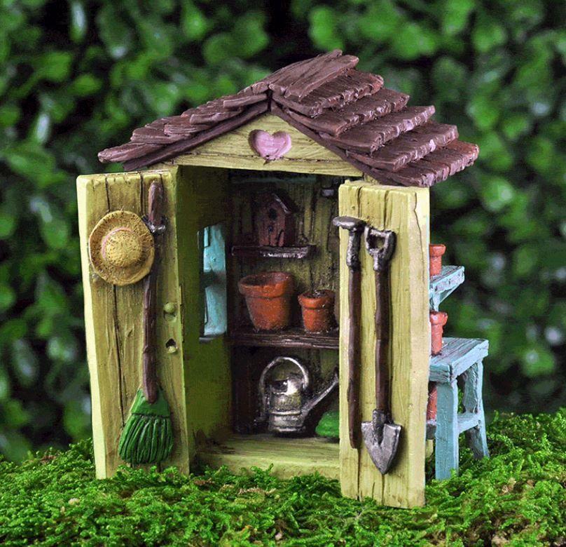 Lovely Little Fairy Shed   Fairy Gardens Australia