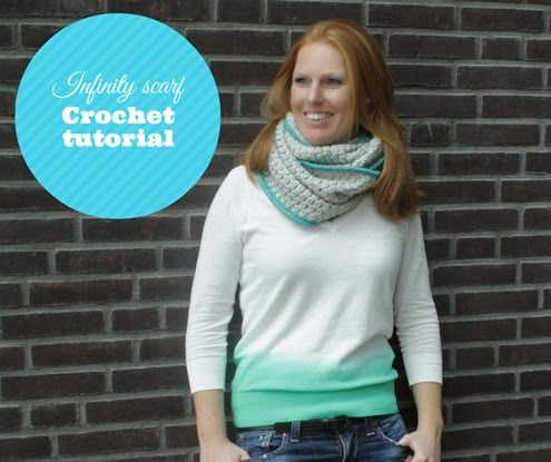 Bobble lenço ponto infinito - Crochet Tutorial