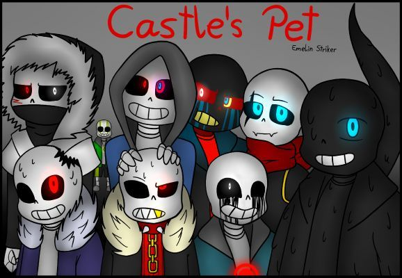 Castle's Pet (Bad Guys X Reader) - ♡ Happy Birthday Undertale