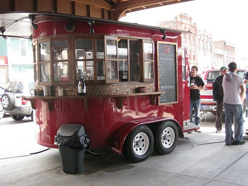 Cute Coffee Cart | reminds me of the mud truck from new york… | alona lerman | Flickr
