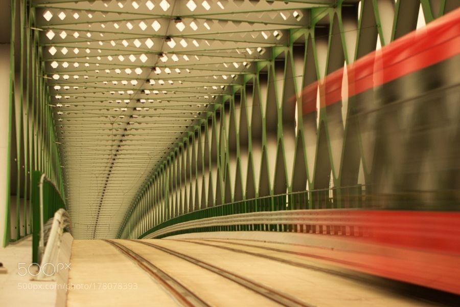 Popular on 500px : on the bridge by PeterLopusny