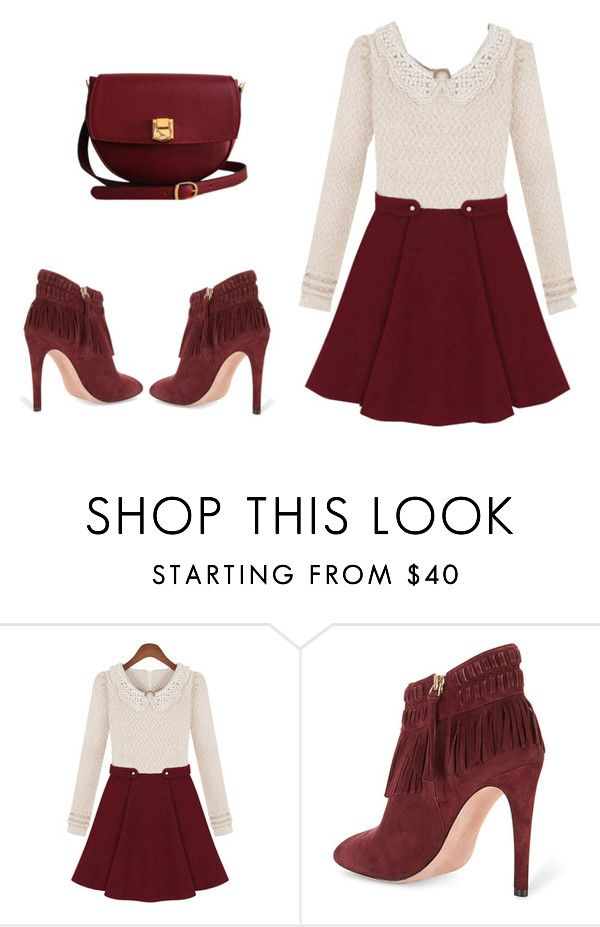 """""""Untitled #9"""" by poppyh999 ❤ liked on Polyvore featuring Rebecca Minkoff and The Code"""