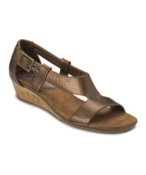 by Aerosoles Bronze Crown Chewls Sandal