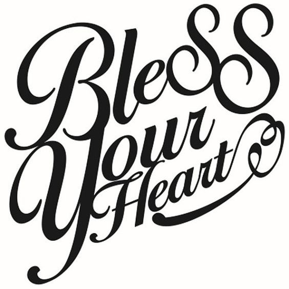 Download Southern Sayings Bless Your Heart Y'all Cuttable Designs ...
