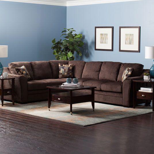Jennifer Sleeper Sectional Affordable Living Room Furniture