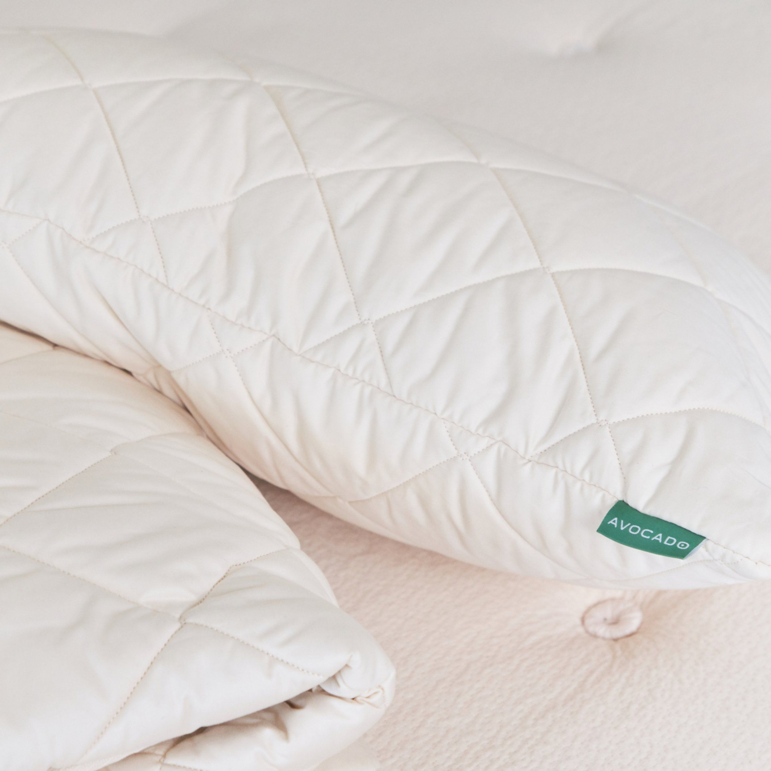 quilted pillow protector pillow