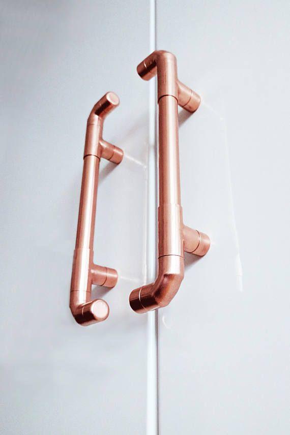 Copper Kitchen Door Handles Wardrobe Door Handles Copper Handles Kitchen Door Handles Wardrobe Door Handles