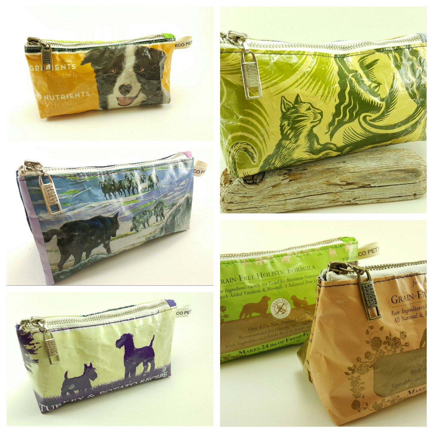 Fully Lined And One Of A Kind The Unique Durable Bags Are Pet Friendly Eco Creative Sustainable