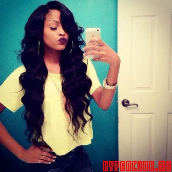 Wondrous Wavy Weave Weave Hairstyles And Hairstyles For Black Women On Hairstyle Inspiration Daily Dogsangcom