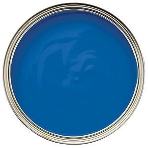 No 950 Vinyl Silk Emulsion Paint 2 5l Wickes Co Uk Blue Painted Walls Blue Wall Colors Wickes
